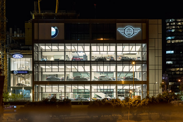 BMW Mini Showroom
