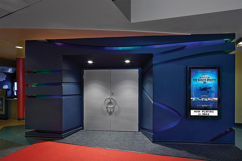 Imax Theatre At The Telus World Of Science Edmondton