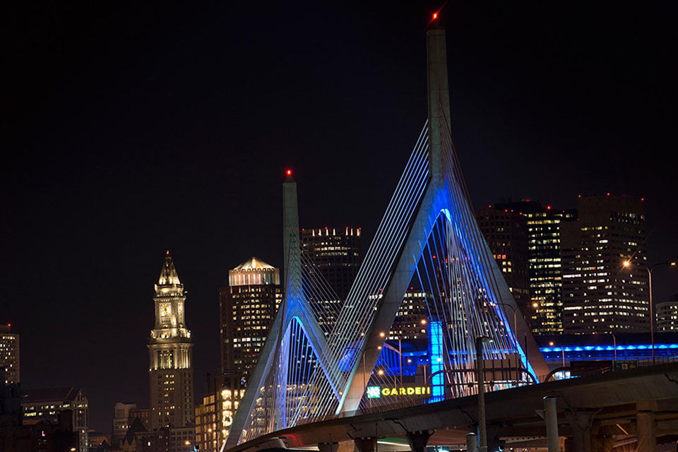 The Leonard P. Zakim Bunker Hill Bridge