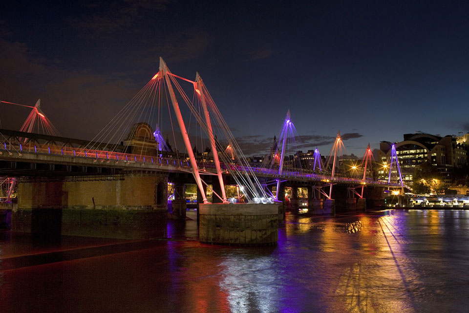 London Bridges (The London Bridge, The Waterloo Bridge, The Golden Jubilee Bridge)