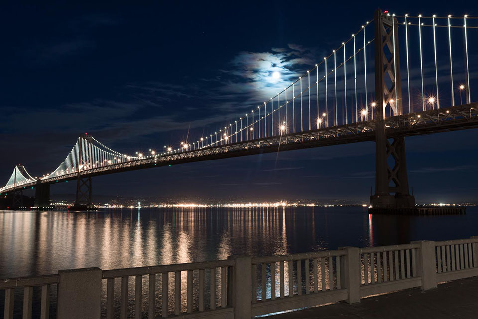 San Francisco-Oakland Bay Bridge - The Bay Lights