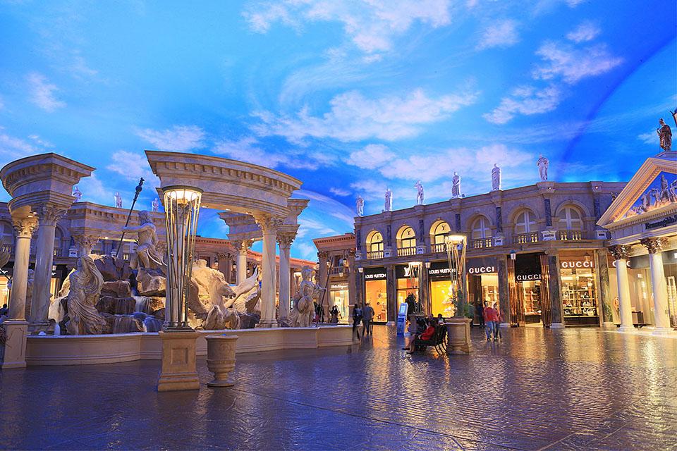 Caesar S Palace Las Vegas Nevada Usa Color Kinetics