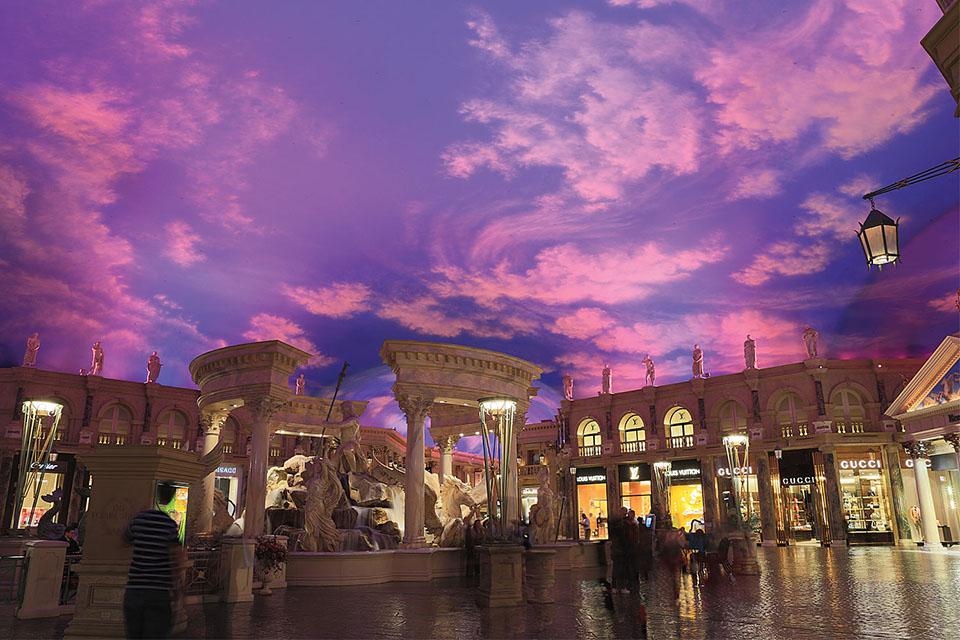 The Forum Shops at Caesar's Palace Las Vegas, Nevada, USA | Color