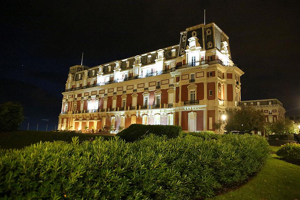 Hotel Du Palais Biarritz Biarritz France Color Kinetics