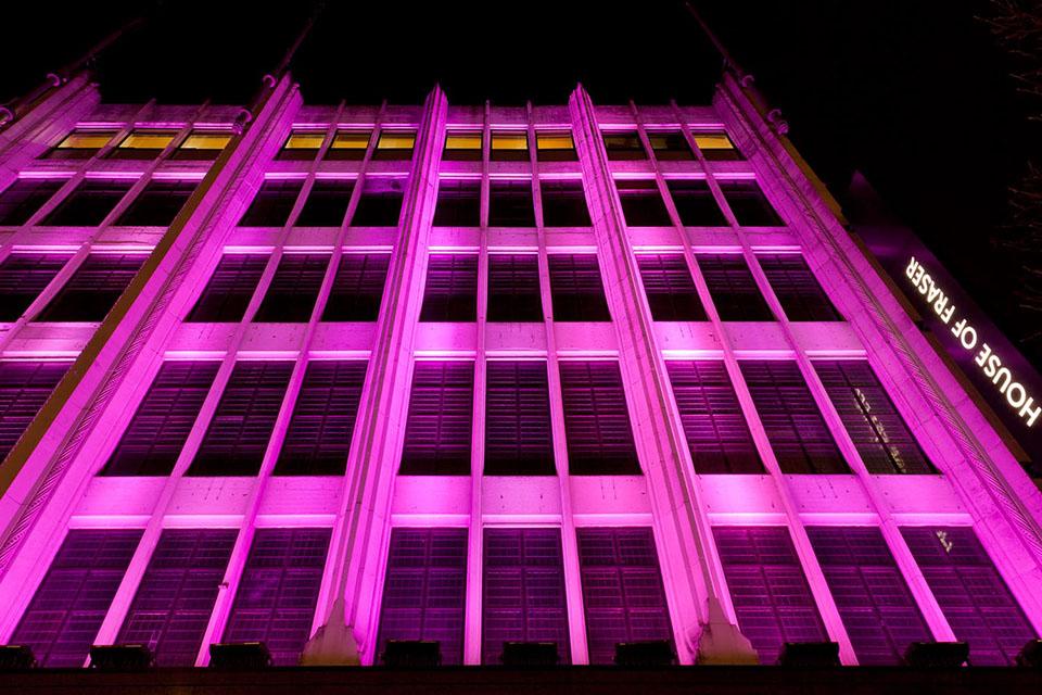 House Of Fraser London England United Kingdom Color Kinetics