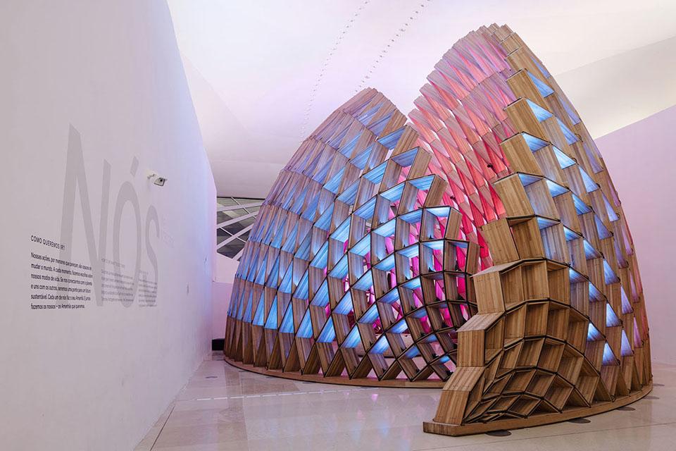 Museum of Tomorrow Rio de Janeiro, zil | Color Kinetics on