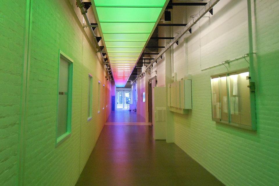Philips Healthcare Building Best, The Netherlands | Color Kinetics